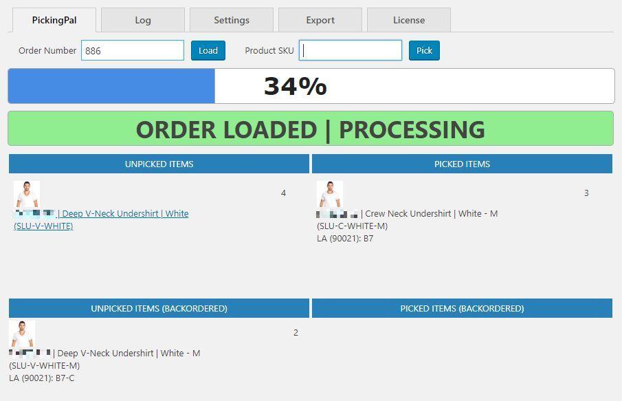 PickingPal order picking barcode scanning software