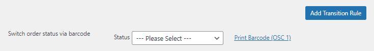 pickingpal switch woocommerce order status via barcode: no rules